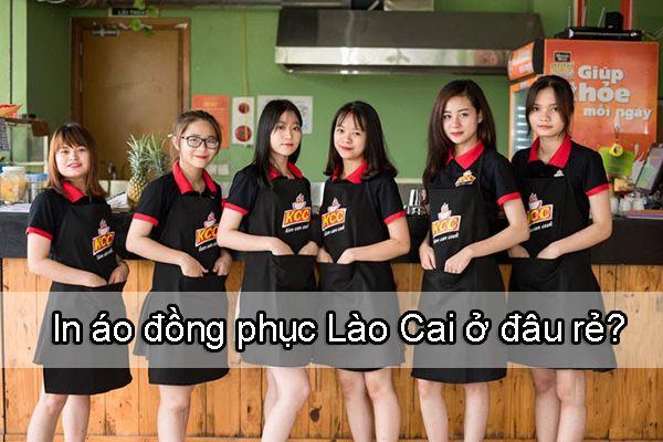 Bật mí 4 đơn vị may, in áo đồng phục tại Lào Cai rẻ, đẹp