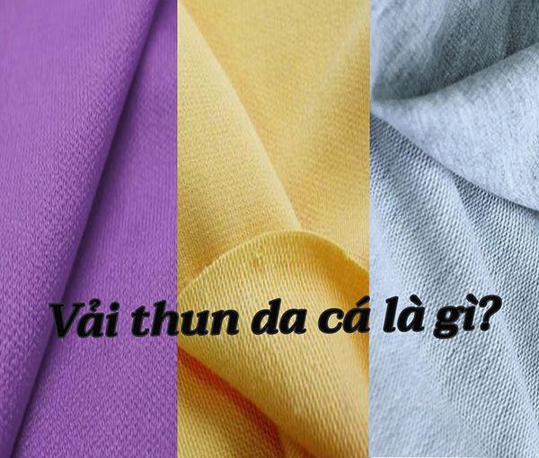 Vải da cá là gì? Tổng hợp thông tin hữu ích về vải thun da cá
