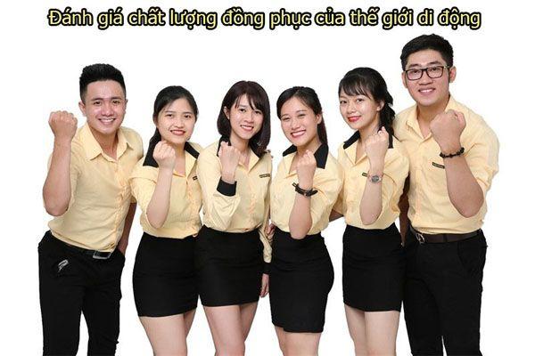 Đánh giá chất lượng đồng phục của thế giới di động