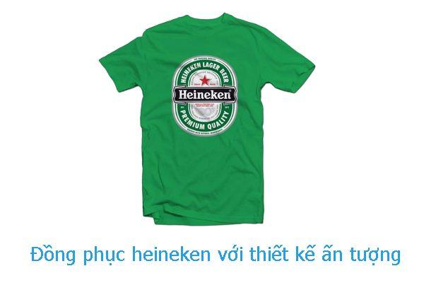 Đồng phục Heineken - Đẳng cấp làm nên thương hiệu