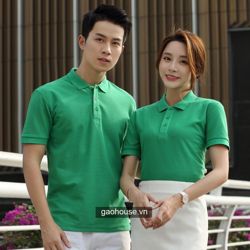 Mẫu áo đồng phục công ty XCT008 - Gạo House