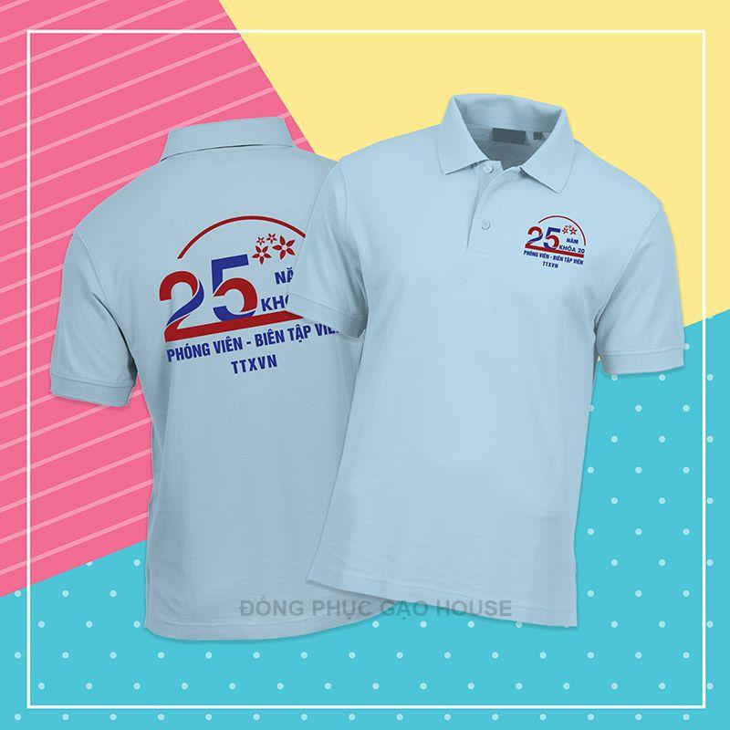 Mẫu áo đồng phục họp lớp XHL005 - Gạo House