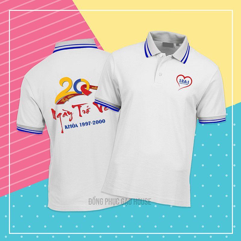 Mẫu áo đồng phục họp lớp XHL017 - Gạo House