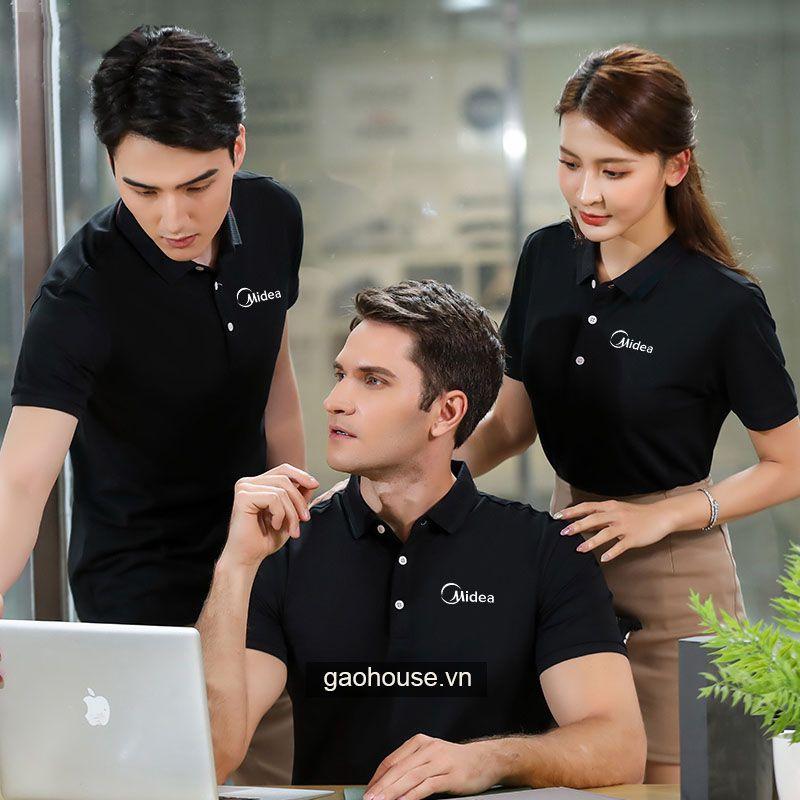Mẫu áo đồng phục công ty XCT015 - Gạo House