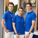 Mẫu áo đồng phục công ty XCT017 - Gạo House