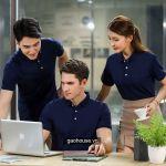 Áo thun đồng phục công ty XCT018 - Gạo House