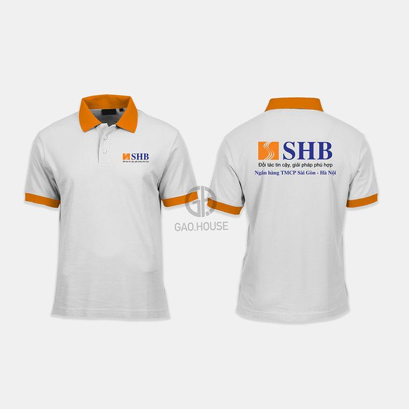 Áo thun đồng phục ngân hàng SHB XNH003 - Gạo House