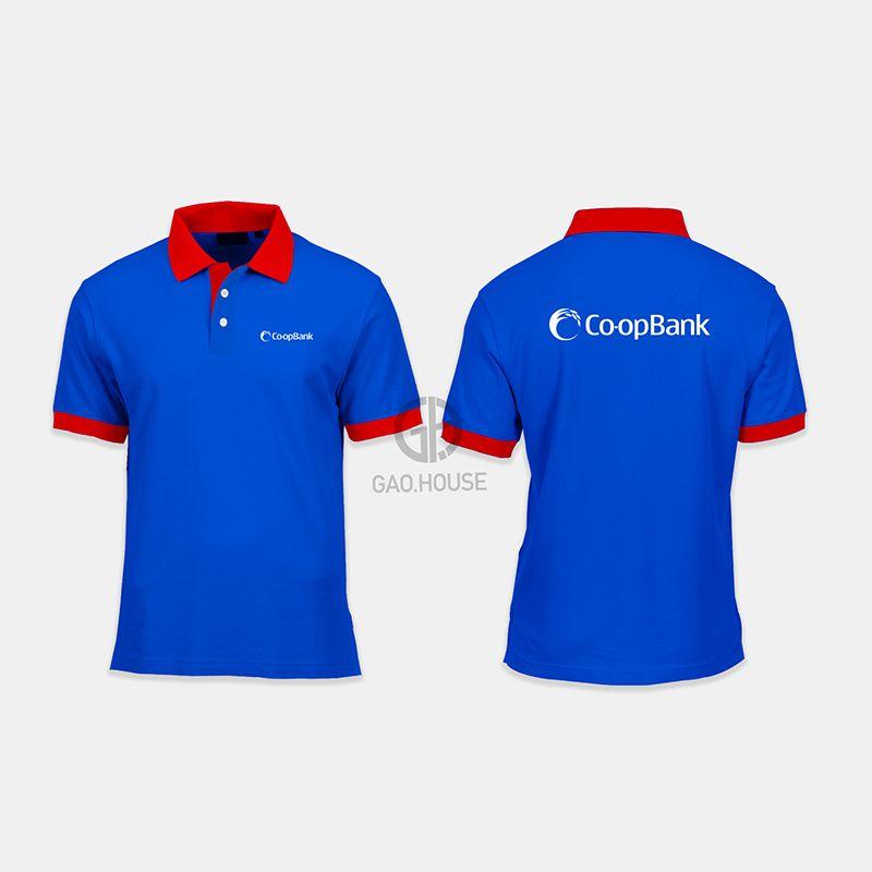 Áo thun đồng phục ngân hàng-Co-opBank XNH008 - Gạo House