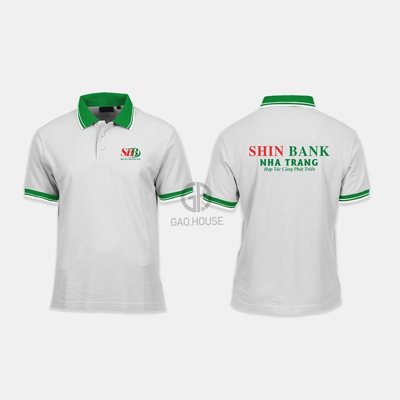 Áo thun đồng phục ngân hàng Shinhan XNH012 - Gạo House