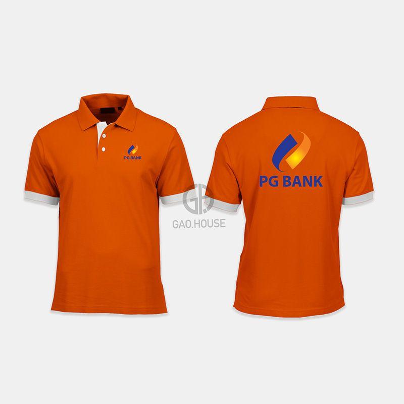 Áo thun đồng phục ngân hàng PG Bank XNH013 - Gạo House