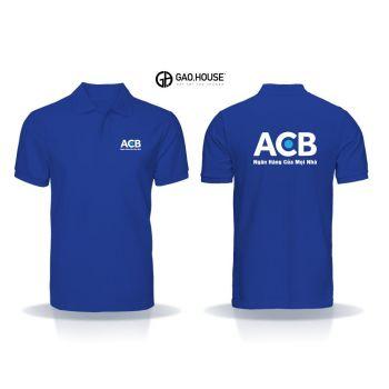 Áo thun đồng phục ngân hàng ACB XNH016
