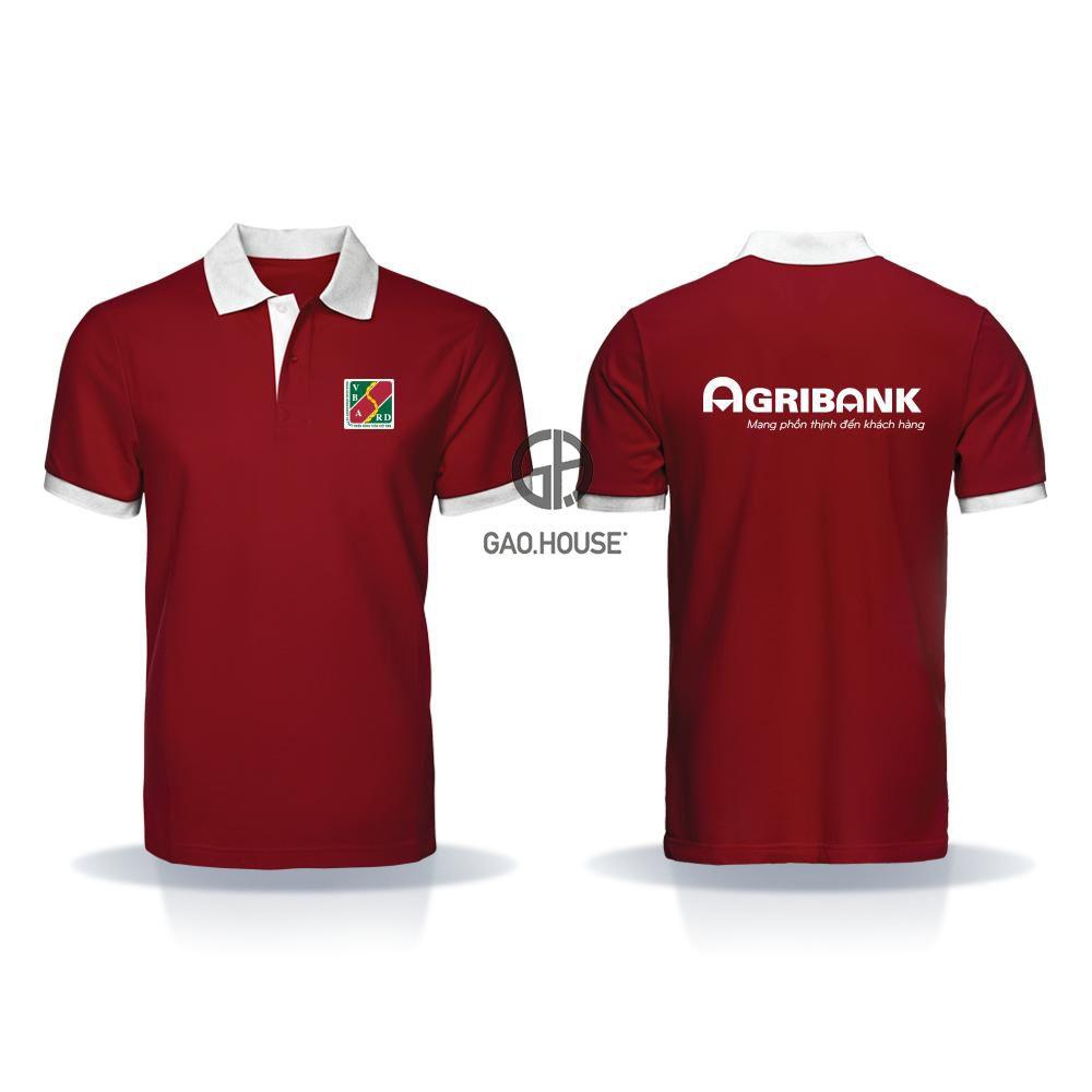 Áo thun đồng phục ngân hàng Agribank XNH018 - Gạo House