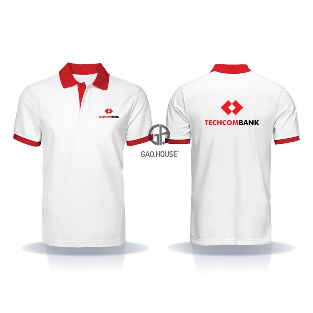 Áo thun đồng phục ngân hàng Techcombank XNH019 - Gạo House