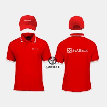 Áo thun đồng phục ngân hàng Seabank XNH021