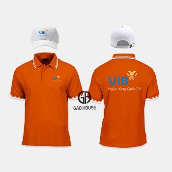 Áo thun đồng phục ngân hàng VIB XNH022