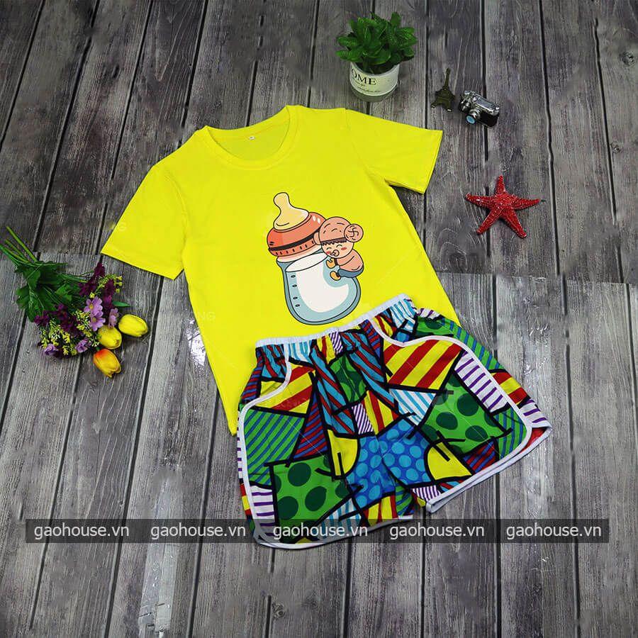 Set áo đồng phục đi biển XDB020 - Gạo House