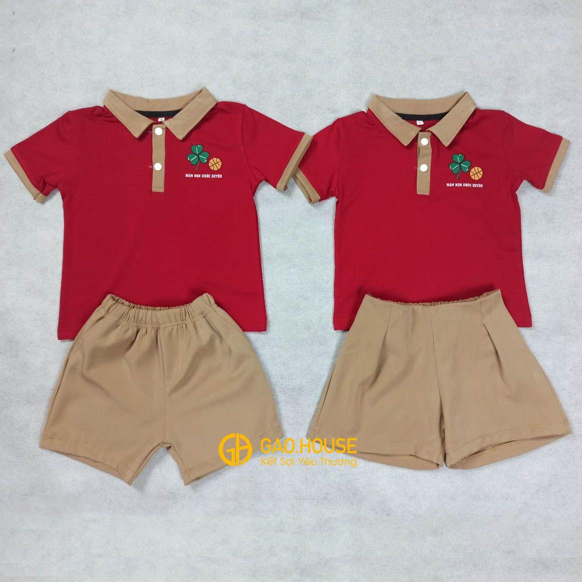 Đồng phục mầm non XMN018