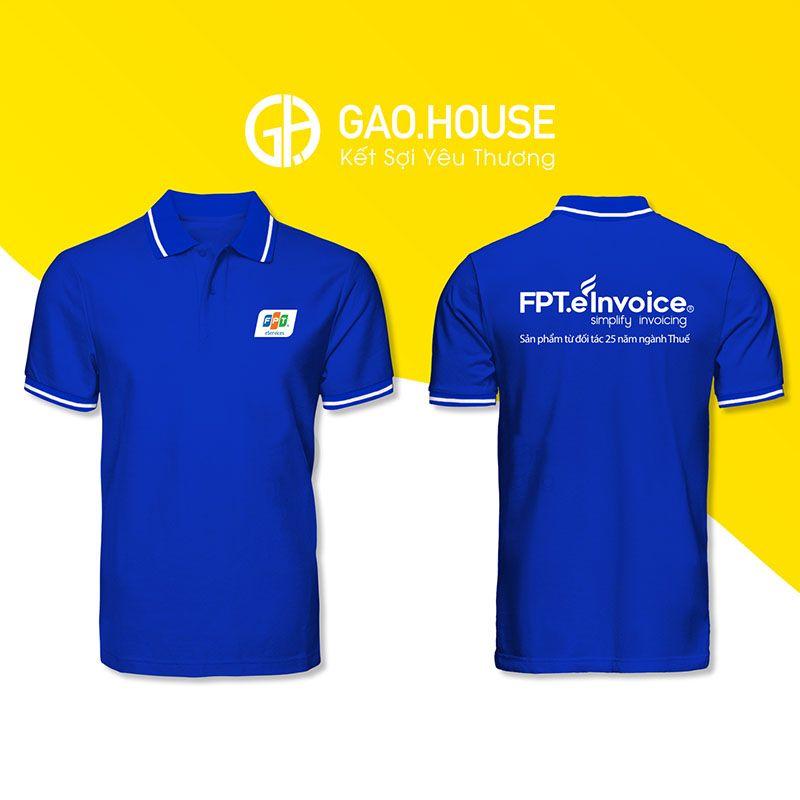 Áo phông đồng phục FPT XCT020 - Gạo House