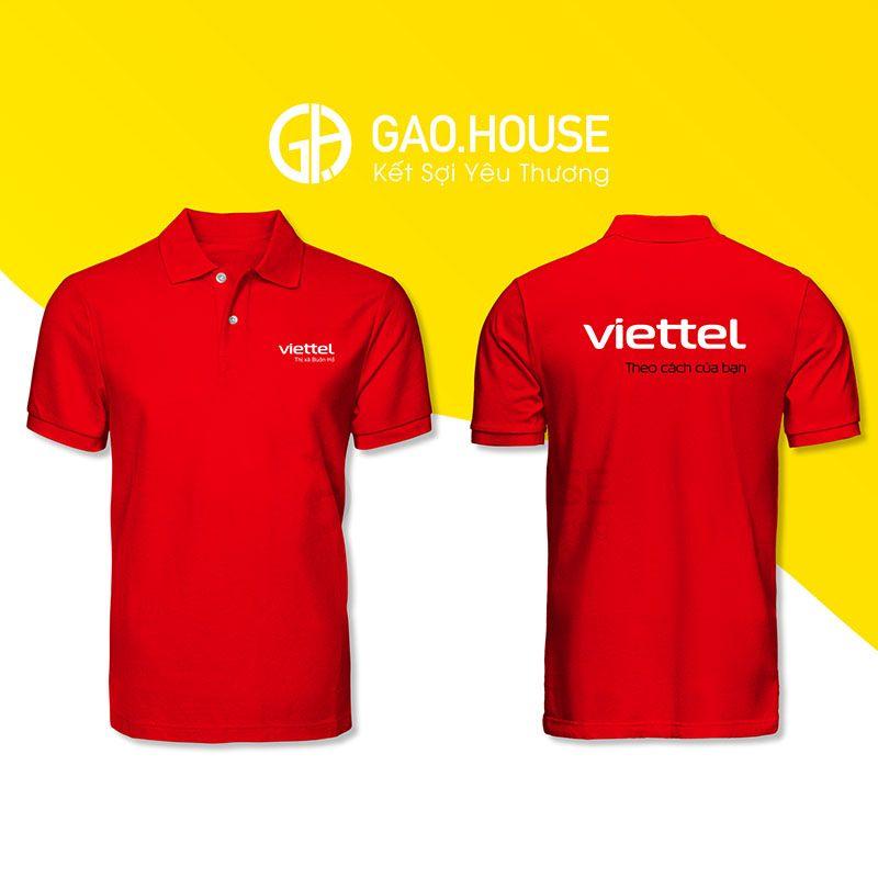 Áo phông đồng phục Viettel XCT023 - Gạo House