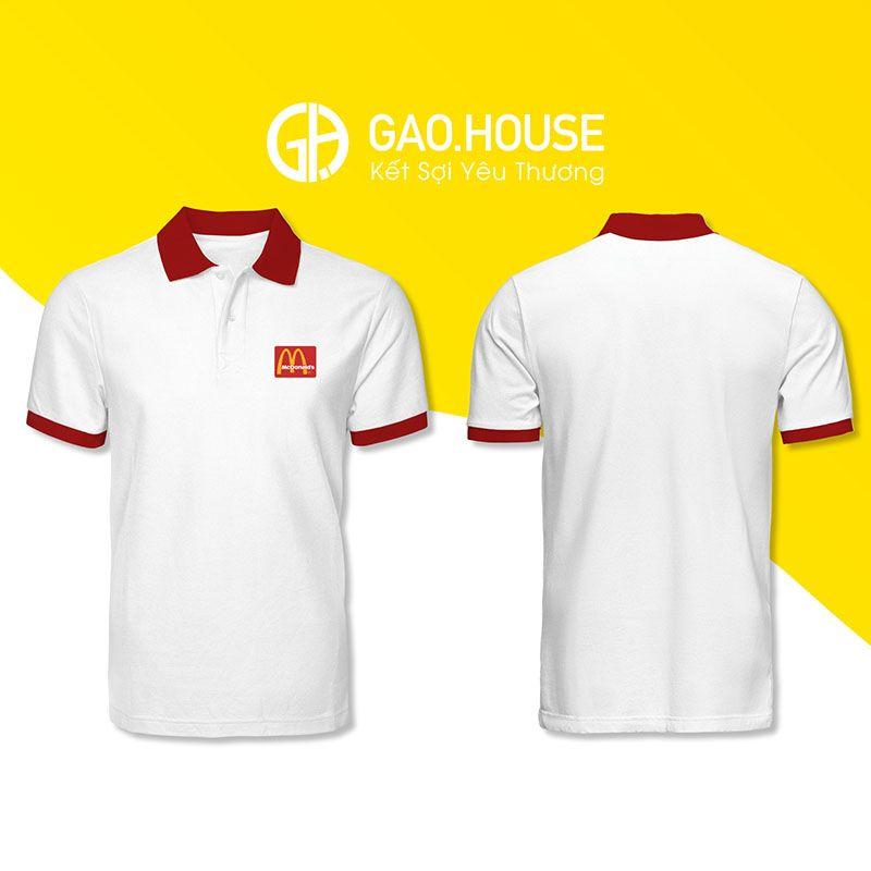 Áo thun đồng phục Mcdonald XCT026 - Gạo House
