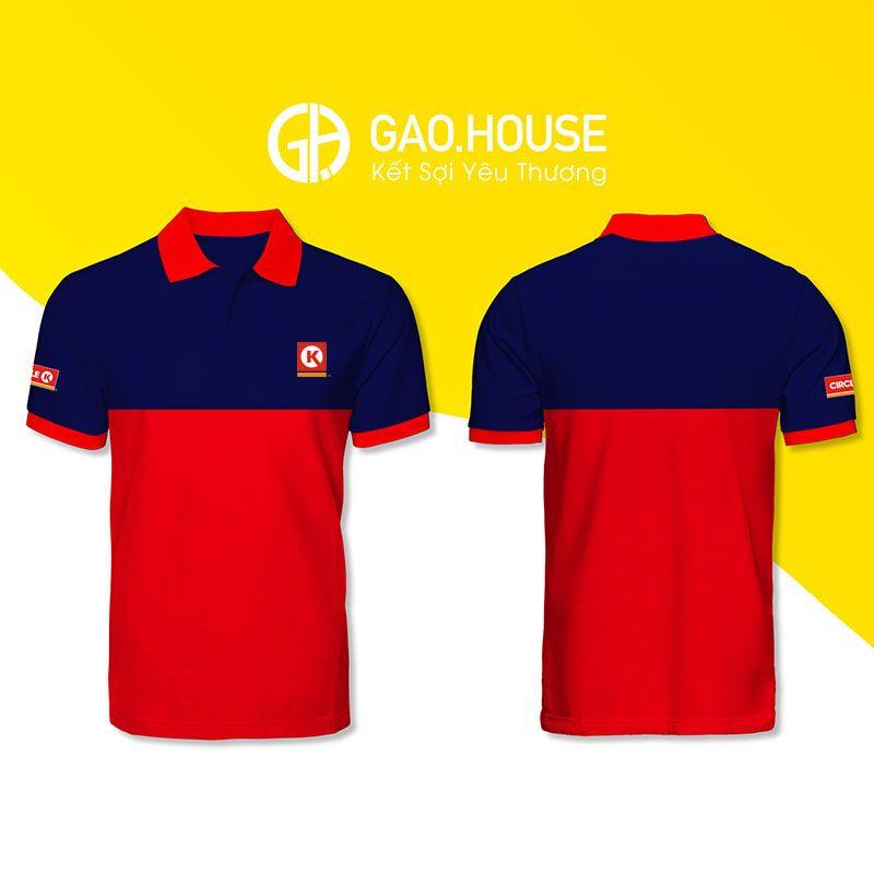 Áo phông đồng phục Circle K XCT027 - Gạo House