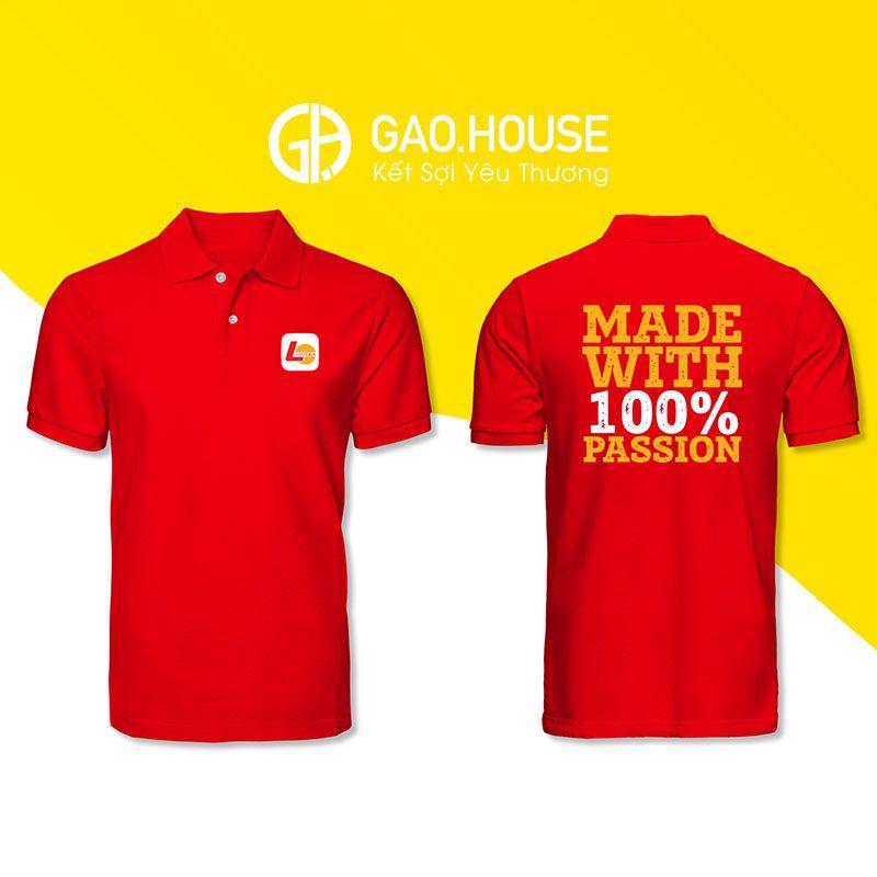Áo phông đồng phục Lotteria XNH002 - Gạo House
