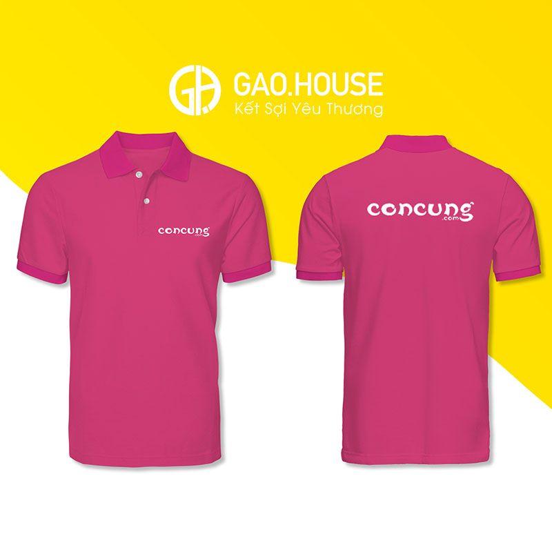 Áo phông đồng phục Con Cưng XCT028 - Gạo House