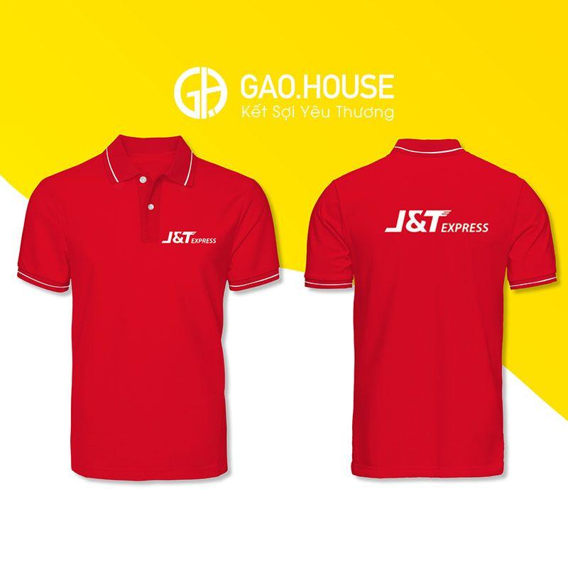 Áo phông đồng phục J&T XCT029 - Gạo House
