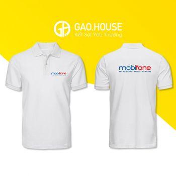 Áo đồng phục công ty MobiFone XCT030