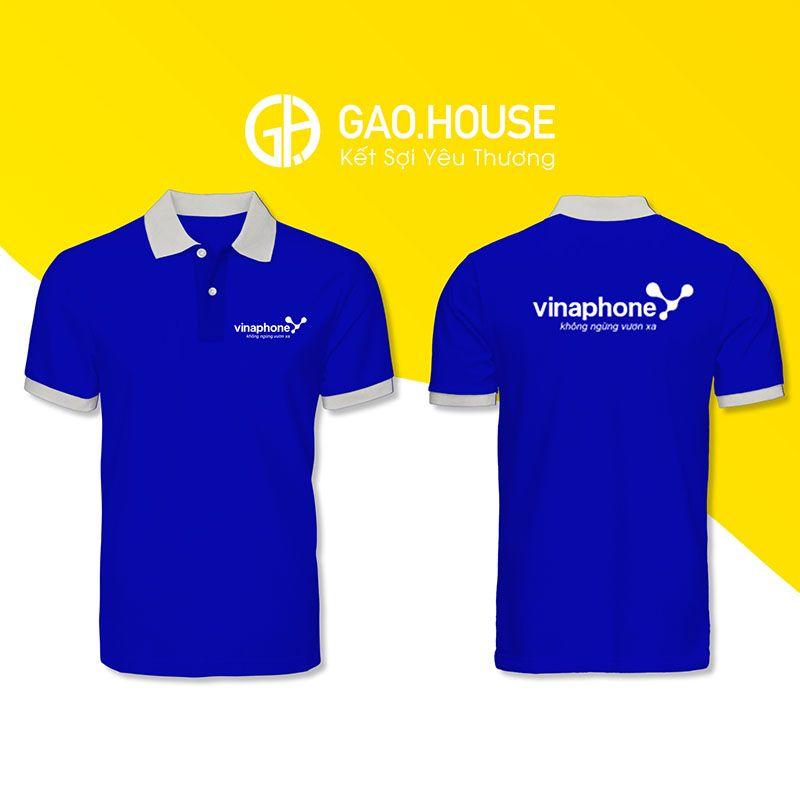 Áo đồng phục công ty Vinaphone XCT035 - Gạo House